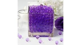 Image of a Vase Filler-Water Pearls-Purple