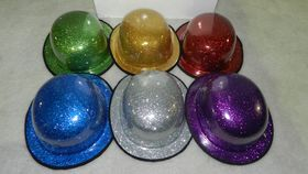 Image of a Hat-Glitter Bowler Hats