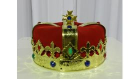 Image of a Hat-Jeweled-Crown