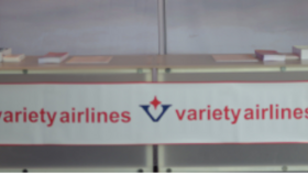 Image of a Banner-Variety Airlines