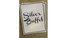 Image of a Sign-Buffet-Silver-Double
