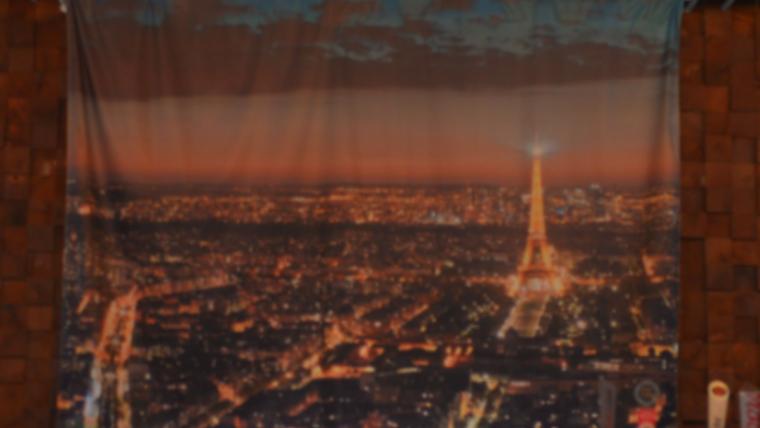 Picture of a Backdrop-Paris Skyline