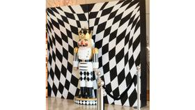 Image of a Billet-Harlequin w/Glitter