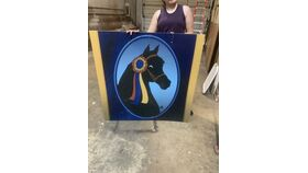 Image of a Morgan Horse Owned-Horse Head-Sign