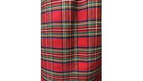 "Image of a 100""R Christmas Plaid Shimmer"