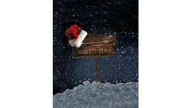 Image of a Backdrop-This Way to North Pole