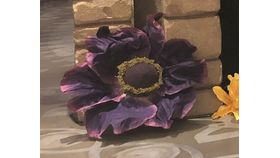 Image of a Giant Purple Flower