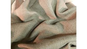 Image of a Table Runner-Faux Burlap