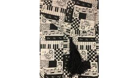 Image of a Table Runner-Musical Pattern