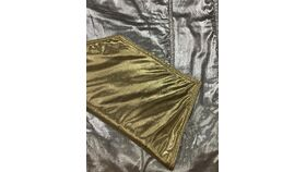 Image of a Table Runner-REVERSIBLE-Gold Lame or Silver Lame