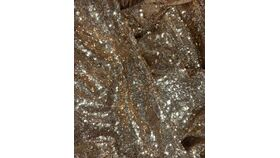 Image of a Table Runner-Gold Sequin