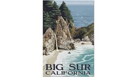 Image of a McWay Falls in Big Sur Puzzle