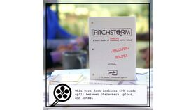 Image of a Pitch Storm Game of Pitching Movie Ideas