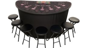 Image of a Elite Deluxe Three Card Poker Table