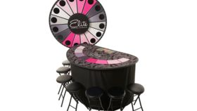 Image of a Elite Lighted Mega Money Wheel