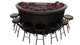 Image of a Elite Cosmo Blackjack Table PINK