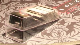 Image of a Blackjack Shoe 6 deck with discard holder Clear Acrylic