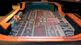 Image of a Elite Deluxe Craps Table
