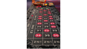 Image of a Elite Deluxe Roulette Table