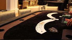 Image of a Elite Deluxe Poker - Texas Hold 'Em Table