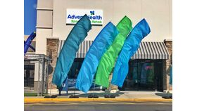 Image of a AdventHealth Flag Colors