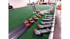 Image of a 2 Lane Slot Car Track