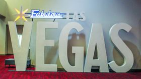 """Image of a 3D Letters """"VEGAS"""" - 8ft"""