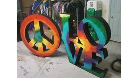 Image of a 5' H Letters   BERNINA U
