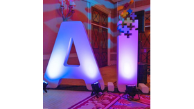 Image of a 6' H Letters