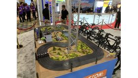 6 Lane Slot Car Track - Bicycle Pedal Power image