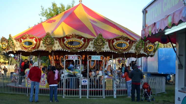 Picture of a 36' Carousel