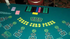 Image of a 3 Card StudPoker Table