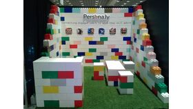 Image of a Everblock Trade-show booth