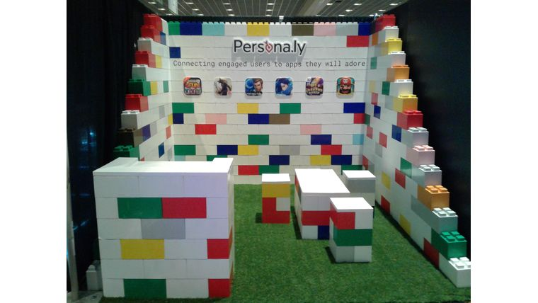 Picture of a Everblock Trade-show booth