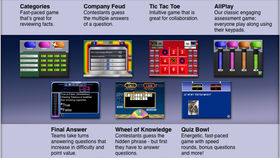 Image of a Game Show Options