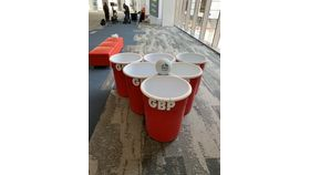 Image of a Giant Beer Pong