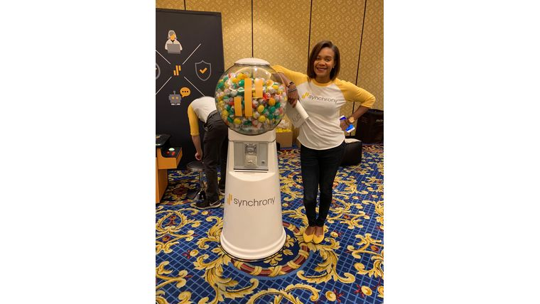 Picture of a Giant Gumball Machine