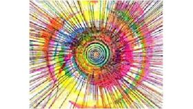 Giant Spin Art - T-Shirts or Bandanna's image
