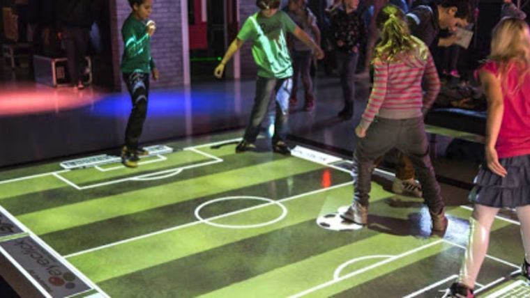Picture of a Interactive Floor, Wall Projection or Touchscreen System