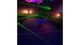 Image of a Interactive Laser Maze, 007 challenge