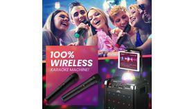 Image of a Mini Portable Karaoke System