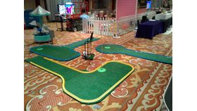 Image of a Mini Putt Putt Golf Hole