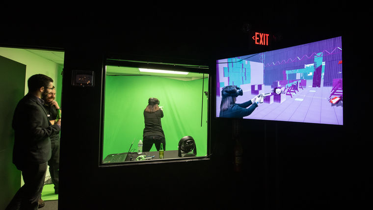 Picture of a Mixed Reality VR Experience and Games