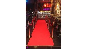 Image of a 20' Red Carpet