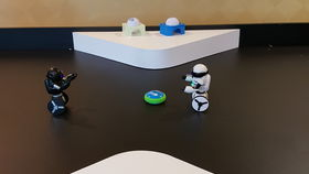 Image of a Robot Air Hockey Table, MIP