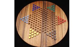 Image of a Giant Table Top Chinese Checkers