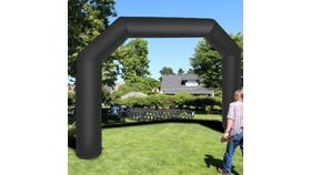 Image of a Inflatable 20ft Wide Arch, Black