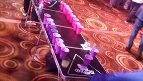 Image of a Beer Pong Table