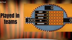 Image of a Corporate Feud (Similar to Family Feud) - Virtual Game Show
