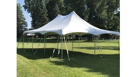 Image of a 20'x30' White Canopy (H)